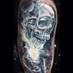Skull n clock