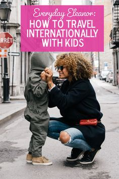 Traveling internationally with kids is possible! Here's how one family traveled abroad for three months.