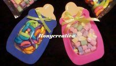 Sorprende a los invitados de tu Baby shower con estos dulceros. ¡Les encantará!