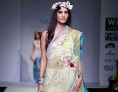 Rajdeep Ranawat collection at Wills Lifestyle India Fashion Week Spring/Summer 2014.