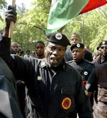 New Black Panther Party   Southern Poverty Law Center - The New Black Panther Party is a virulently racist and anti-Semitic organization whose leaders have encouraged violence against whites, Jews and law enforcement officers. Founded in Dallas, the group today is especially active on the East Coast, from Boston to Jacksonville, Fla...