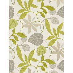 Buy Sanderson Wallpaper, Folia DIOWFO102, Lime / Charcoal Online at johnlewis.com