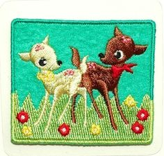 Lovely Deer ironon transfer by HollandFabricHouse on Etsy, $3.95