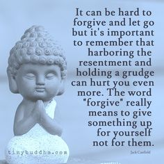 I get the 'let it go' bit, however, i don't understand 'forgive but don't forget'. Surely if you don't forget than you haven't really forgiven....No???