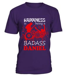 # DANIEL BEING HAPPINESS .  DANIEL BEING HAPPINESS  A GIFT FOR THE SPECIAL PERSON  It's a unique tshirt, with a special name!   HOW TO ORDER:  1. Select the style and color you want:  2. Click Reserve it now  3. Select size and quantity  4. Enter shipping and billing information  5. Done! Simple as that!  TIPS: Buy 2 or more to save shipping cost!   This is printable if you purchase only one piece. so dont worry, you will get yours.   Guaranteed safe and secure checkout via:  Paypal | VISA…