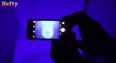超簡単!iPhoneをブラックライトにする方法がマジですごい! 本当にブラックライトになってる…!? Mp3 Player, Iphone