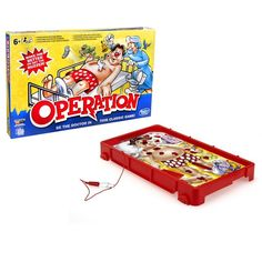 Superb Classic Operation Game Now at Smyths Toys UK. Shop for Hasbro Board Games At Great Prices. Free Home Delivery for orders over Classic Bookshelves, Operation Game, Game Prices, Board Games For Kids, Kid Games, Toys Uk, Game Guide, Game Sales, House Of Fraser