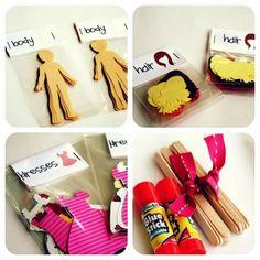 Fabriquez des poupées en carton
