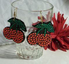 Very Cherry Earrings by FabulouslyBooGee on Etsy, $9.00