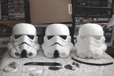 Stormtrooper pepakura - TERRA1 diy bucket build
