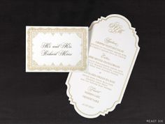 East Six: Wedding Invitations New York