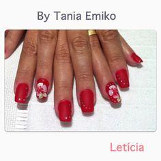 #taniaemiko #nailstaniaemiko alongamento em procelana,carga dupla e decor 3D.