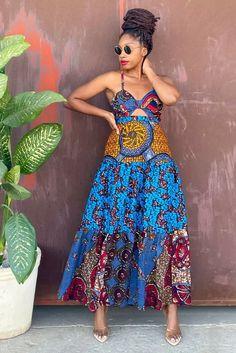 African Wedding Dress, African Print Dresses, African Dress, African Clothes, African Prints, African Fashion Ankara, African Wear, Chitenge Dresses, Ankara Styles For Women