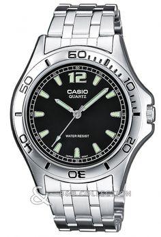 Ceas Casio Collection MTP-1258PD-1AEF Bb Shop, Casio, Chronograph, Omega Watch, Rolex Watches, Bracelet Watch, Quartz, Accessories, Sport