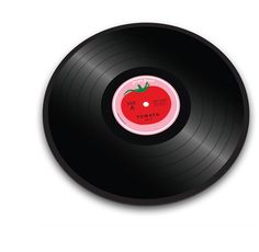 It's a cutting board that looks like a vinyl record!