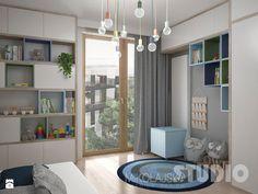 pokój-chłopca-dziecka-dziecięcy-kolorowy-kolorowe-półki - zdjęcie od MIKOŁAJSKAstudio