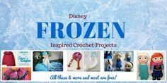 FREE Frozen Crochet Patterns: Inspired by the Disney Movie Tunisian Crochet Free, Easy Crochet, Crochet Stitches, Crochet Hats, Crochet Fish, Double Crochet, Easter Crochet Patterns, Baby Patterns, Fish Patterns