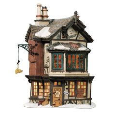 Amazon.com - Department 56 Dickens Village Ebenezer Scrooge's House - Holiday Collectible Buildings