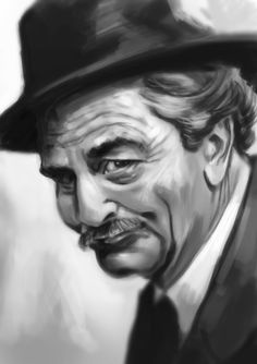 """""""As You Wish"""" 30 min digi-paint of Peter Falk, who passed away today. Princess Bride was a HUGE influence on me as a kid and I must have watched that mo. As You Wish - Peter Falk Basset Dog, Peter Falk, Learn To Fly, Before Sunrise, The Best Films, Fantasy Movies, Blake Lively, Drawing People"""