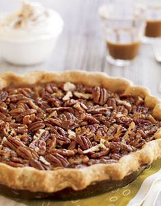 Pecan pie. The best pie I have ever made or eaten. Made for thanksgiving and it was all eaten and requested for the next day!  And this was from people that normally don't like pecan pie!  Must make! Yummy!!