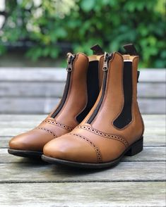 Short Boots, Design Your Own, Chelsea Boots, Brown, Model, Shoes, Collection, Fashion, Low Boots