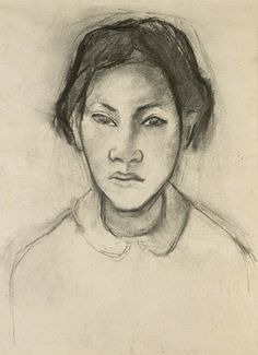 Gauguin drawing
