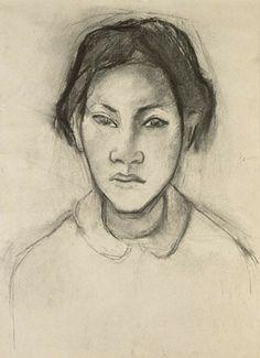 Gauguin drawing