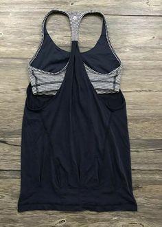 Lululemon Practice Freely Tank Gingham Womens Sz 4 /  | eBay Sleeveless Tunic Tops, Trinidad And Tobago, Gingham, Lululemon, Athletic Tank Tops, Sportswear, Formal Dresses, Ebay, Women