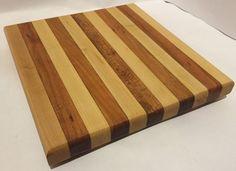 Reclaimed Wood Edge Grain Cutting Board #SmithCustomWoodworks