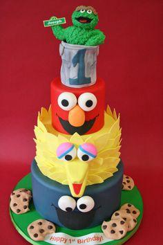 Sesame Street Birthday Cake Fresh First Birthday Cakes Nj Sesame Street Custom Cakes Sesame Street Birthday Cakes, Sesame Street Cake, Custom Birthday Cakes, First Birthday Cakes, Birthday Ideas, Photo Birthday Cakes, Baby Birthday, Fancy Cakes, Cute Cakes