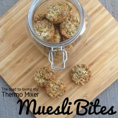 Muesli Bites | The Road to Loving My Thermo Mixer