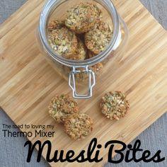Muesli Bites | The Road to Loving My Thermo Mixer