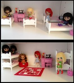 https://flic.kr/p/cexYnh | ADAD 166/366 -- which version? | The girls are still decorating and arranging their house, and can't decide if they like having their beds as bunk beds, or separate.  Anyone have opinions?    Obviously they still need to carpet and wallpaper -- but they are excited to be at this point!  :o)