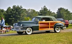 1953 Studebaker Wagon | Chrysler Town & Country 1947