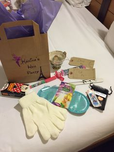 Disney themed hen party goodie bags