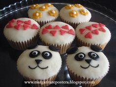 Cupcakes de osos panda (y alguno más)