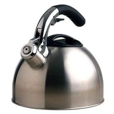 Primula Liberty Soft Grip Brushed Stainless Steel Tea Kettle 3.0 Quart PRIMULA LIBERTY SOFT GRIP BRUSHED STAINLESS STEEL TEA KETTLE 3.0 QUART. New - Retail - 1-Year Mfg Warranty. Manuafcturer: Epoca - Part Number: PTK-6330.  #Epoca #Kitchen
