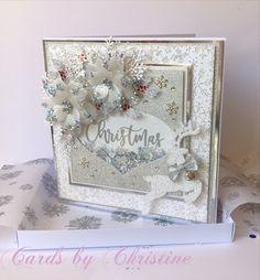 Chloes Creative Cards, Creative Christmas Cards, Christmas Paper Crafts, Christmas Diy, Xmas, Stamps By Chloe, Christmas Inspiration, Wedding Cards, Card Ideas