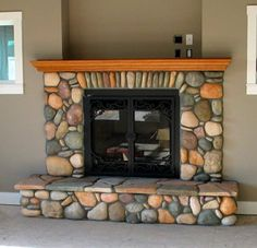 fireplace (lake Ont rocks at G & G