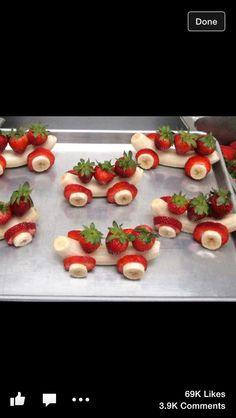 Cool fruit trains