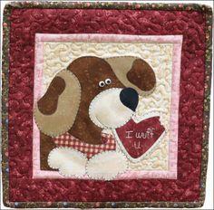 February Dog -  The Wooden Bear
