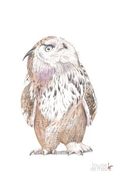 Items similar to Eagle Owl print. size owl drawing, owl watercolor, owl painting, owl illustration, print of owl graphite drawing on Etsy Watercolor Drawing, Watercolor Animals, Watercolor Paintings, Animal Spirit Guides, Owl Illustration, Owl Always Love You, Graphite Drawings, Owl Print, Pin Art