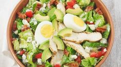 Chicken Cobb with Avocado