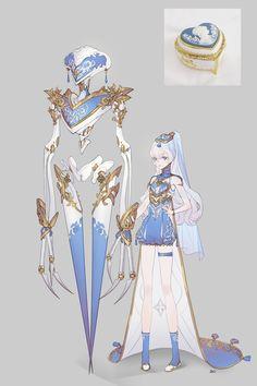 습작 .. : 네이버 블로그 Female Character Design, Character Creation, Character Design References, Character Design Inspiration, Character Concept, Character Art, Concept Art, Creature Design, Pretty Art
