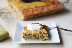 How to make a low-carb breakfast casserole