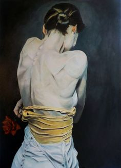 Emily - oil on canvas, 50x70 cm., 2016