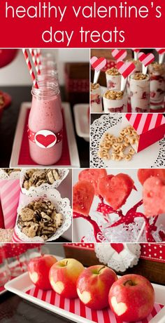 Healthy Valentine's Day Treats for Kids - for kids that have birthdays around Valentines Day!