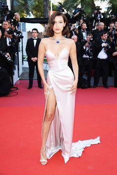 Bella Hadid  LOOKS amazing at the Cannes Film Festival 2017