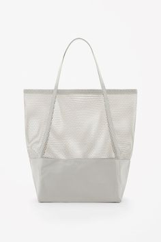 COS | Canvas and mesh bag | Wardrope capsule | Pinterest ...
