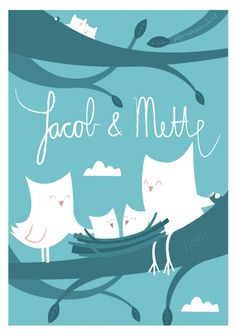 Jacob & Mette Birth Card